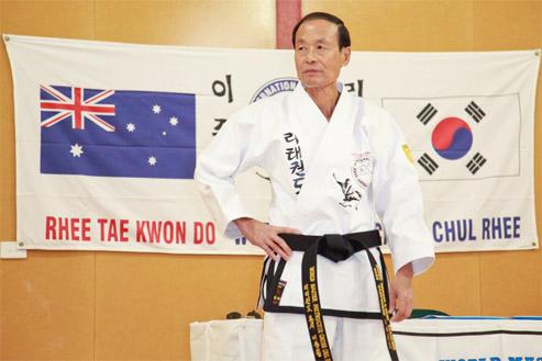 Master Chong Chul Rhee